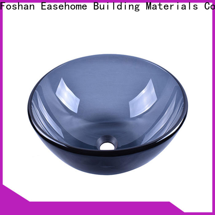 Easehome crystal glass basin best price bathroom