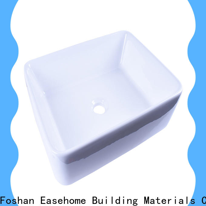 durable ceramic sink double bowl good price home-use