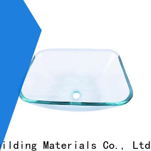 Easehome crystal glass vessel bowl trendy design washroom