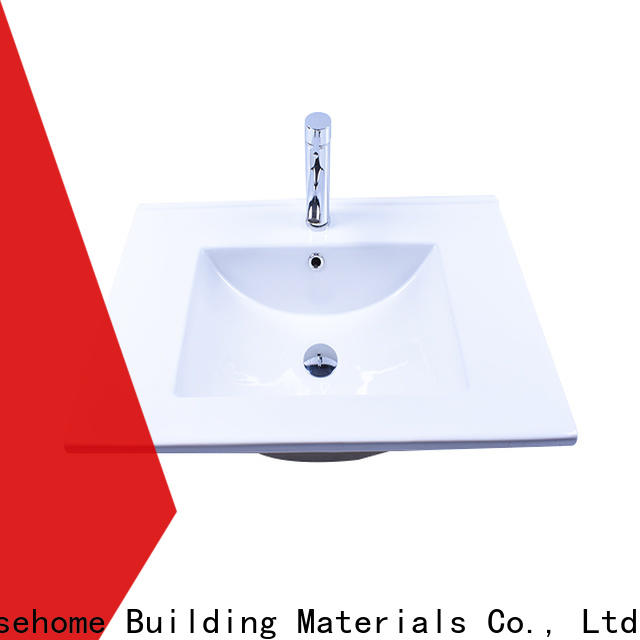 Easehome rectangle ceramic sink good price restaurant