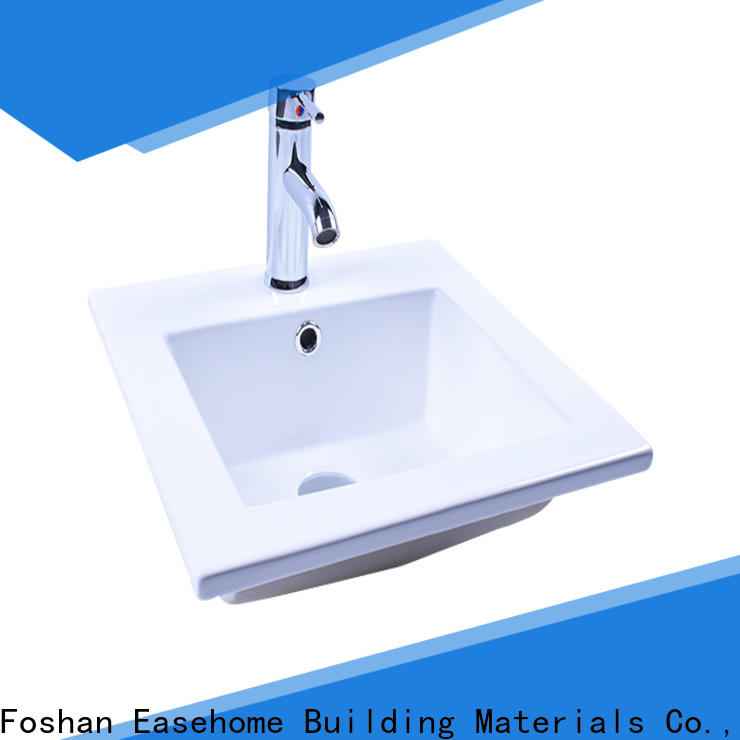 Easehome durable white porcelain basin good price home-use