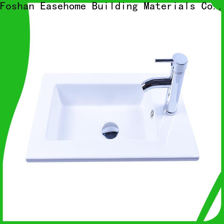 Easehome oem white porcelain basin awarded supplier home-use