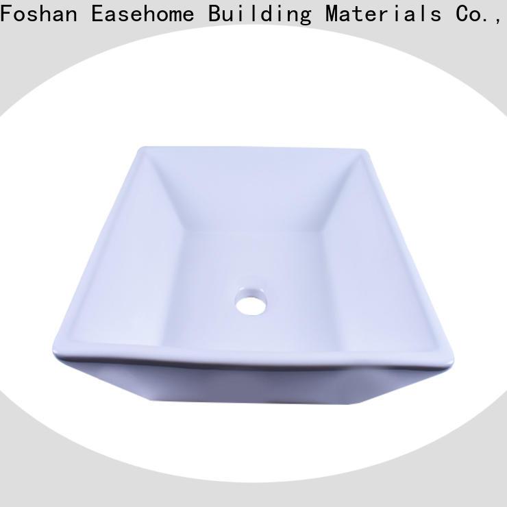 Easehome chrome porcelain wash basin awarded supplier hotel