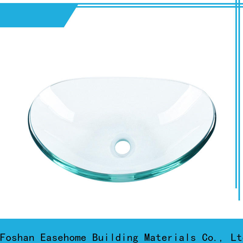 lotus shaped glass bowl sink super white customization apartments