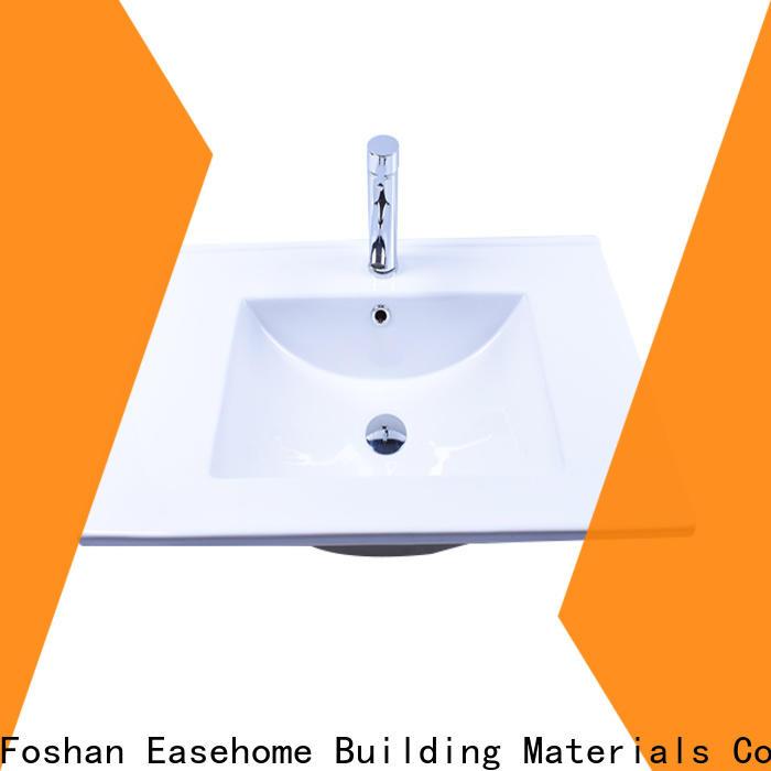 durable porcelain wash basin pure white bulk purchase hotel