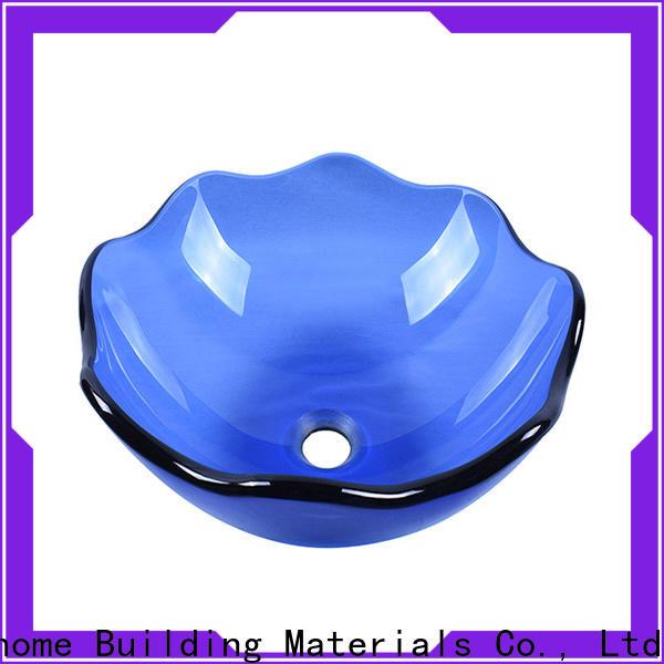 crystal glass vessel bowl oval shaped best price bathroom