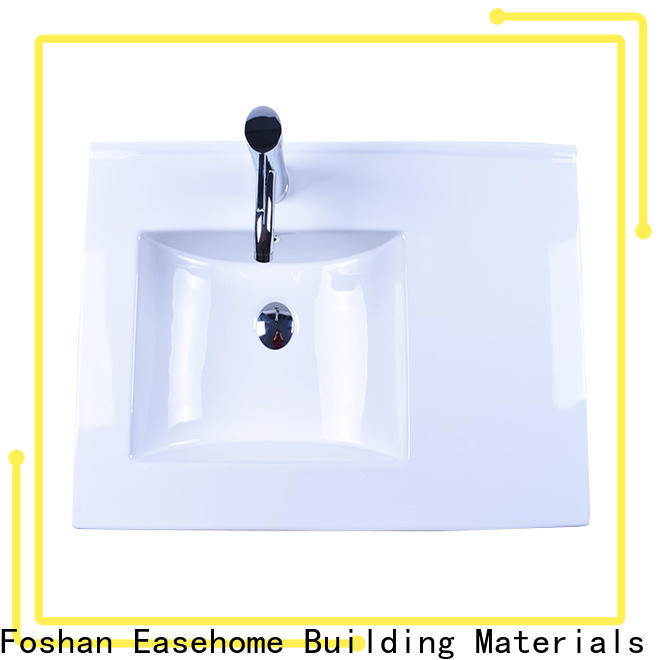 Easehome oem wall hung sink good price restaurant