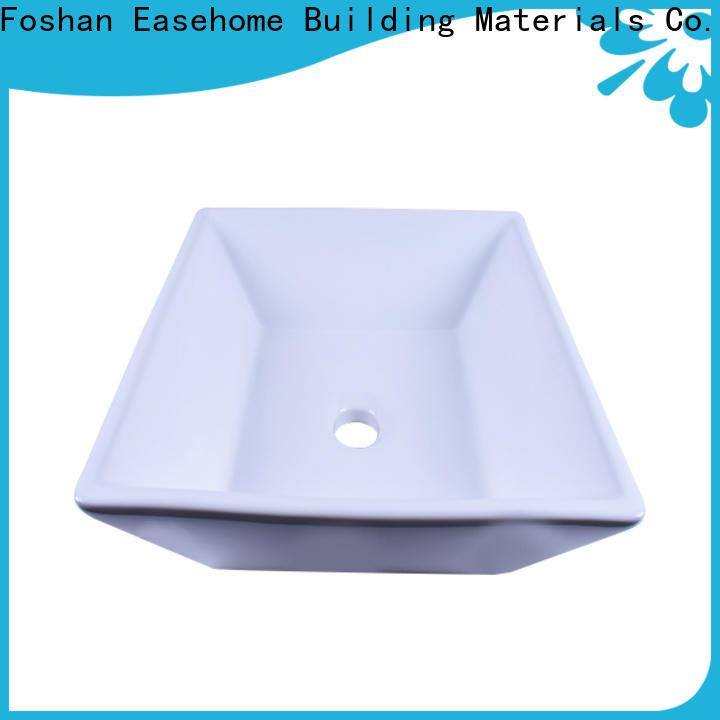 Easehome durable ceramic art basin awarded supplier home-use