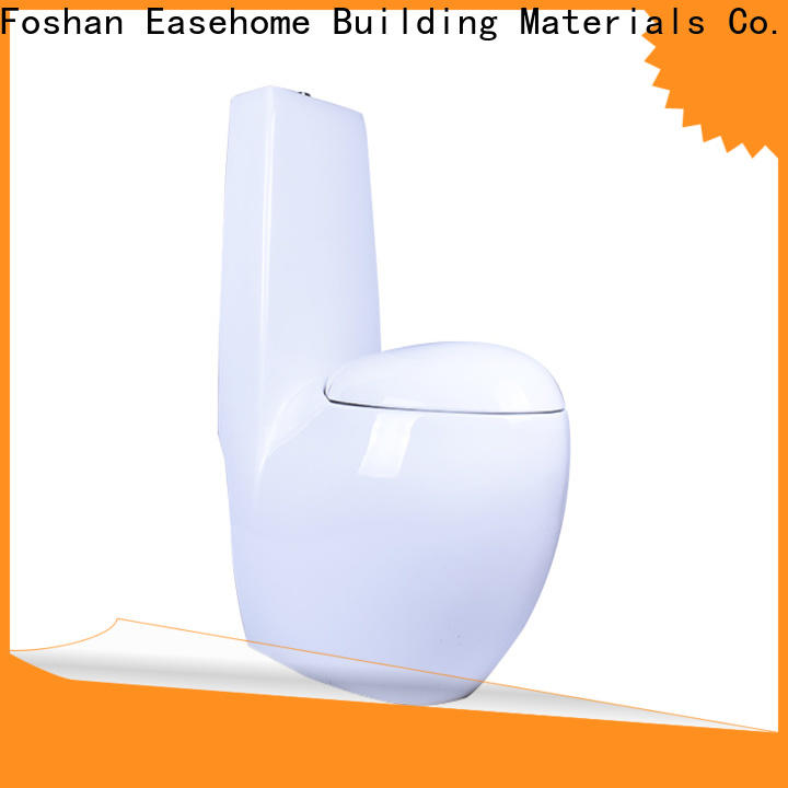 comfortable porcelain toilet S-trap fast shipping bathroom