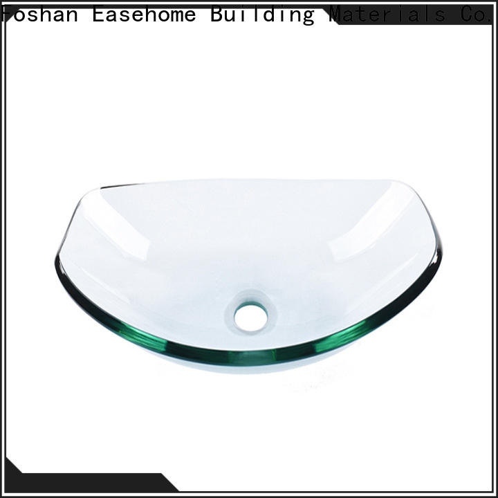 Easehome bowl round glass vessel bowl best price washroom