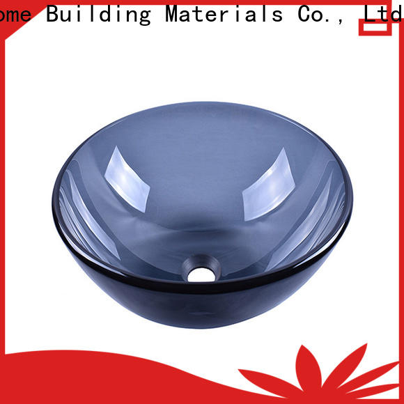 Easehome chromed black glass sink best price apartments