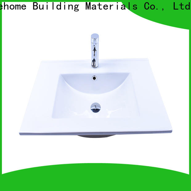 Easehome rectangle how to clean white porcelain sink wholesale hotel