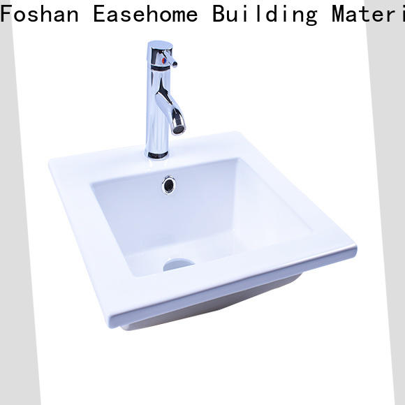 Easehome modern wall hung sink awarded supplier home-use