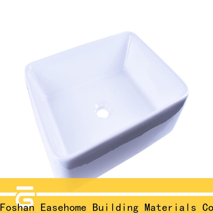 Easehome rectangle porcelain basin sink awarded supplier home-use