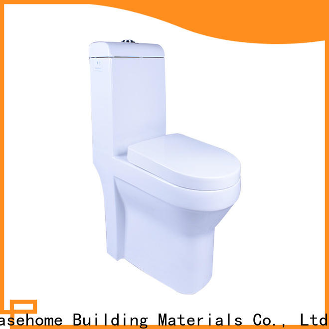 Easehome one piece bone color toilet fast shipping bathroom