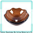 Easehome lotus shaped glass vessel bowl best price washroom