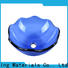 Easehome lotus shaped glass sink trendy design apartments