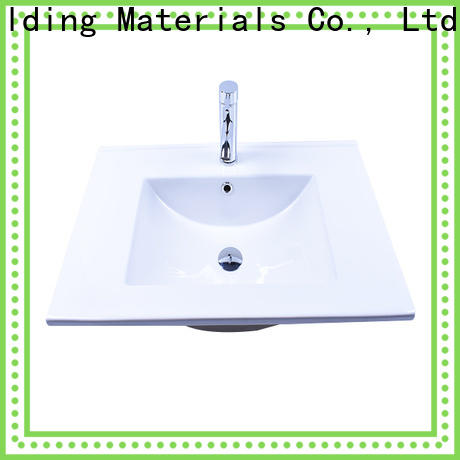 Easehome pure white porcelain undermount bathroom sink awarded supplier hotel