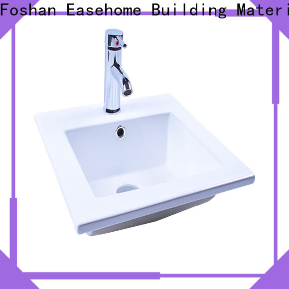 Easehome oem wall hung sink bulk purchase hotel