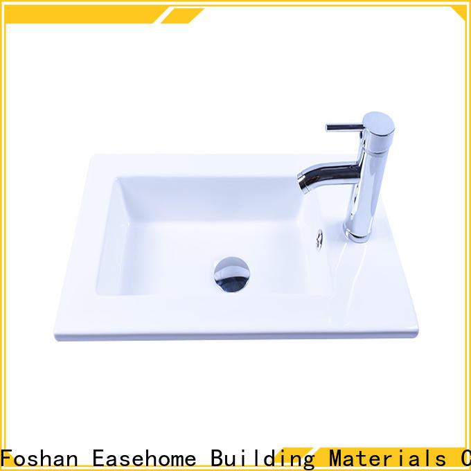 Easehome modern porcelain wash basin wholesale hotel