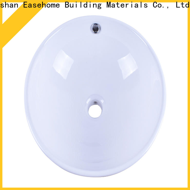 Easehome oem how to clean white porcelain sink awarded supplier hotel