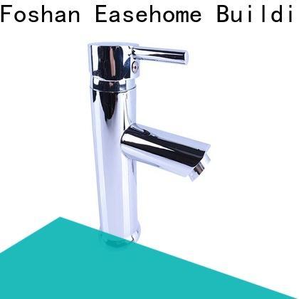 Easehome brass body chrome sink faucet unique design shower