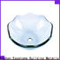Easehome square shape glass vessel bowl best price bathroom