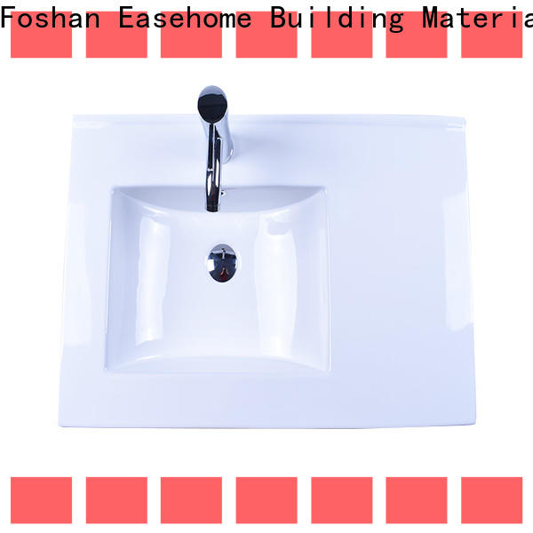 Easehome one piece ceramic basin awarded supplier home-use