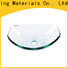 Easehome crystal glass sink best price apartments