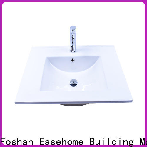 Easehome rectangle ceramic sink wholesale restaurant